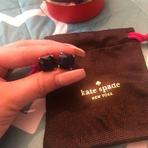 Kate Spade Navy Blue earrings